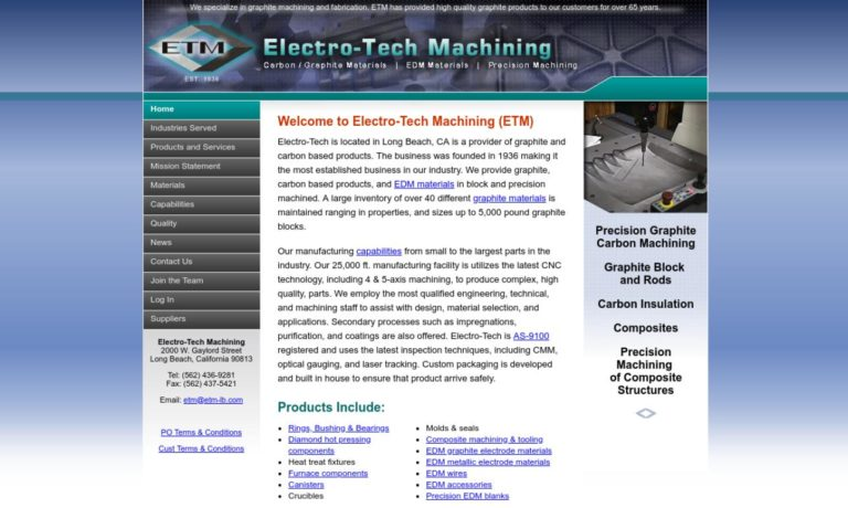 Electro-Tech Machining