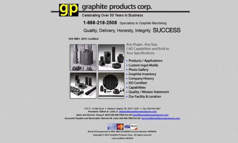 Graphite Products Corp.