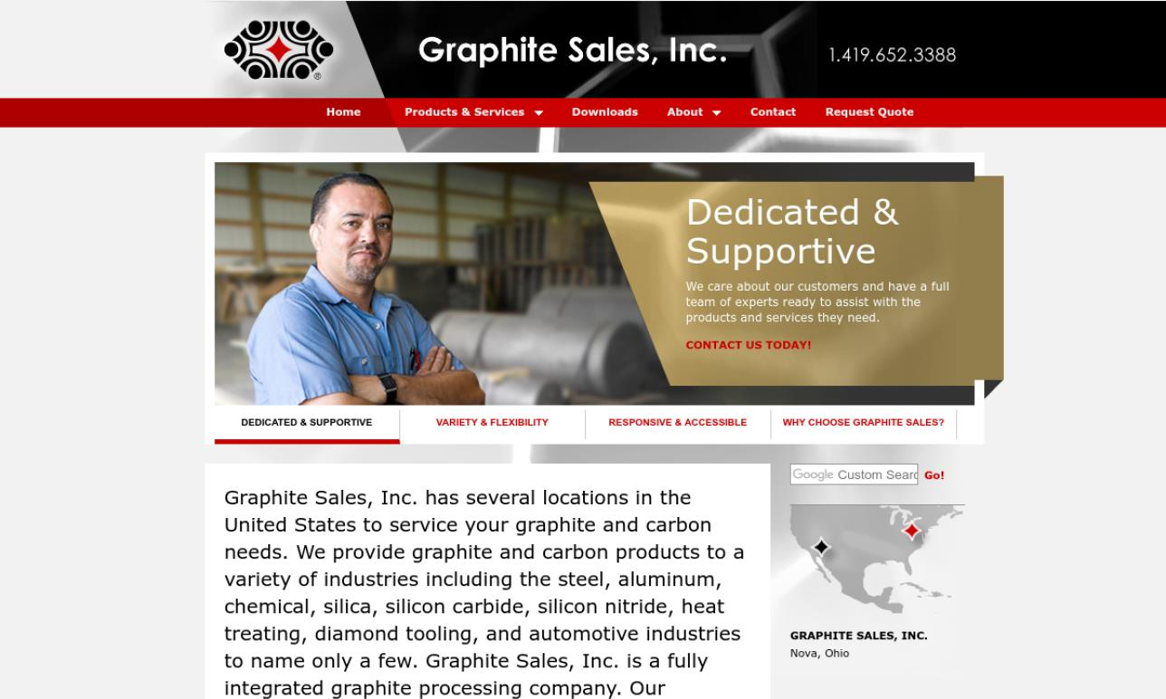 More Graphite Machining Company Listings
